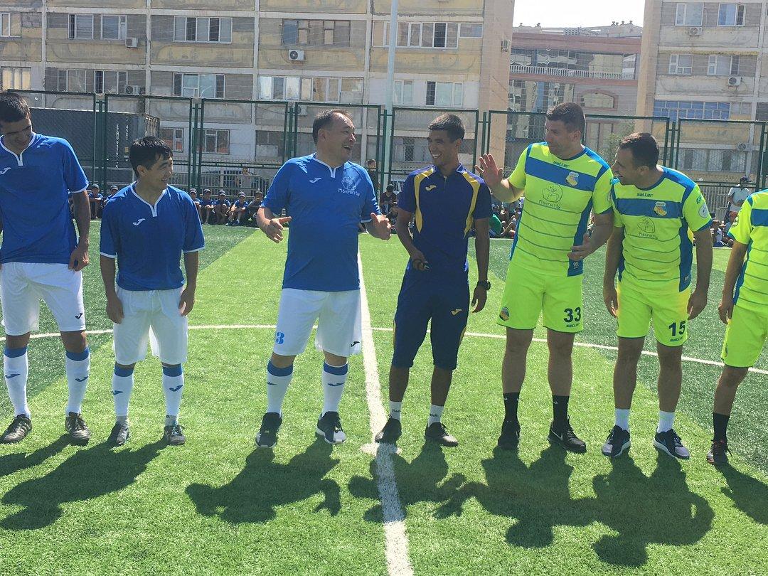 Футбольное поле по стандартам FIFA открыли в Актау, фото-5