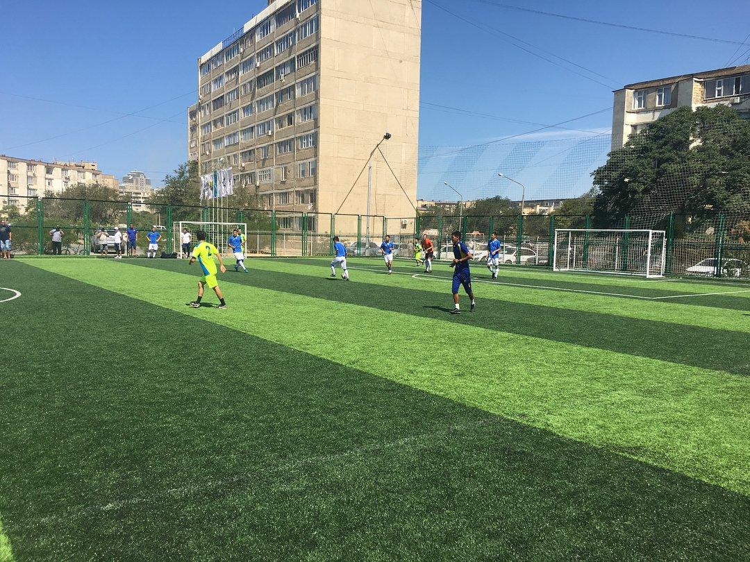 Футбольное поле по стандартам FIFA открыли в Актау, фото-4
