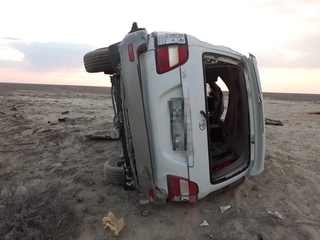 Три человека погибли в ДТП в Мангистау (ФОТО), фото-1
