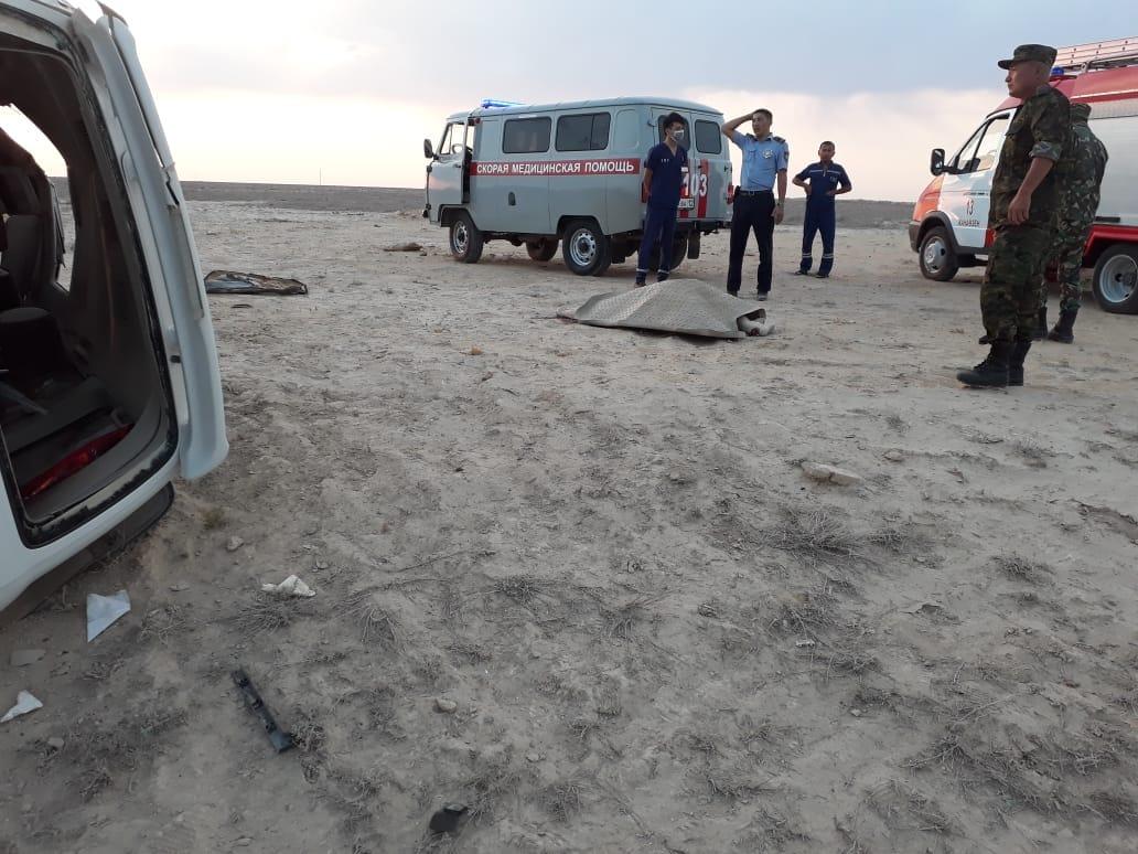 Три человека погибли в ДТП в Мангистау (ФОТО), фото-3