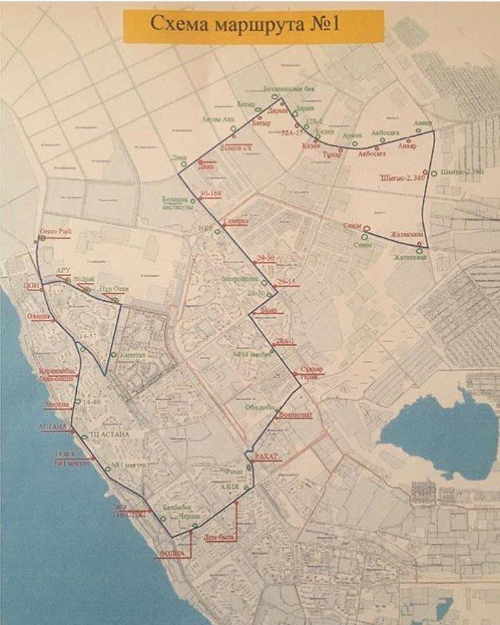 В Актау запустили новый автобусный маршрут, фото-1