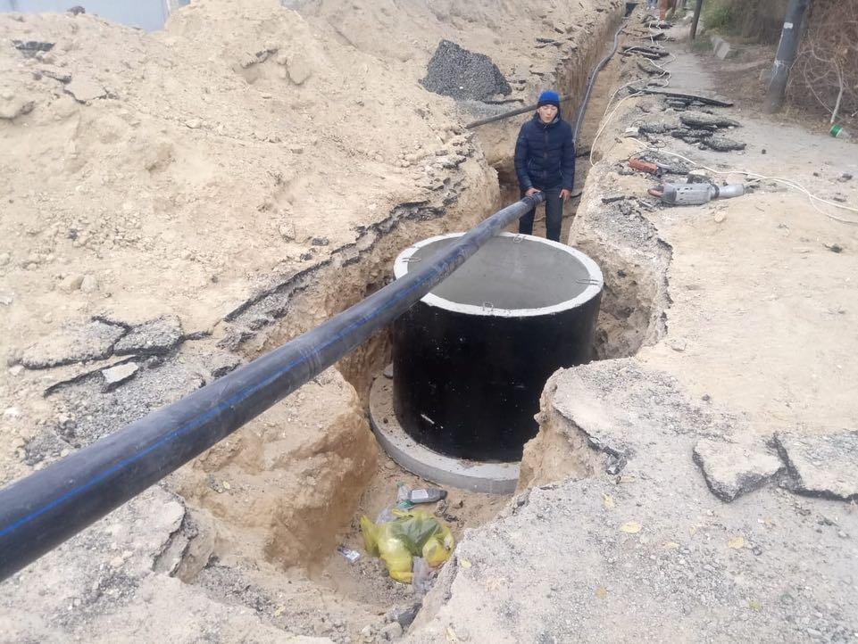Жителям Приозерного-1 меняют водопровод, фото-1