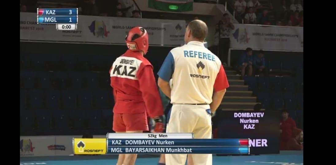 Спортсмен из Мангистау стал призером Чемпионата мира по самбо в Румынии, фото-1