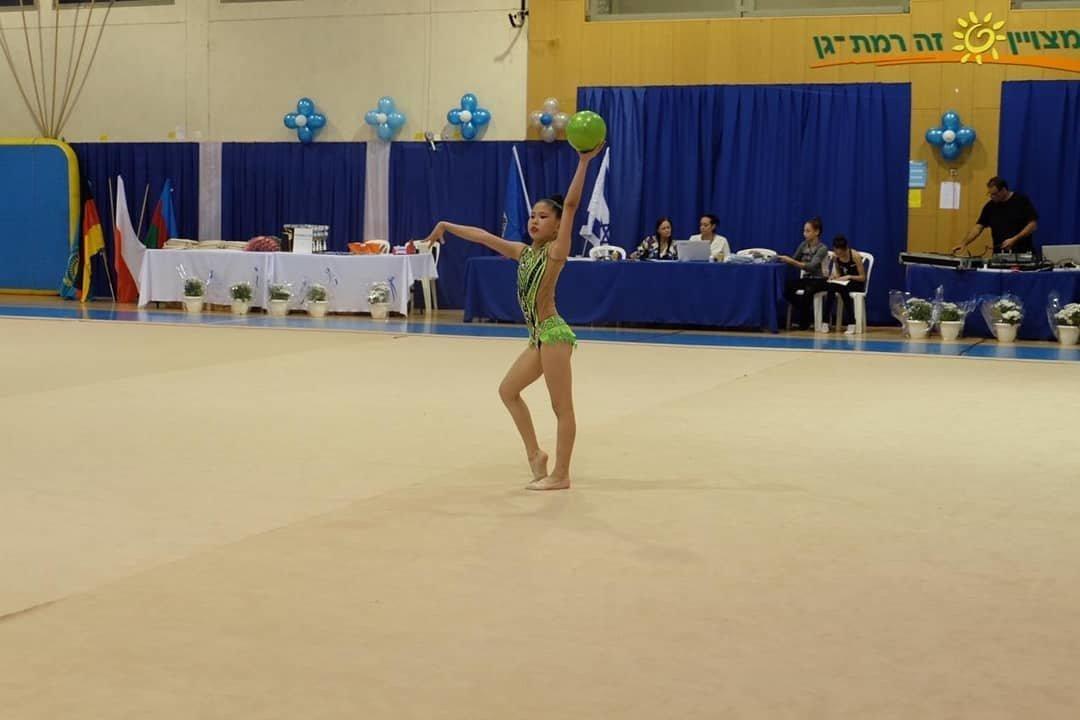 Гимнастка из Мангистау заняла первое место на международном турнире в Израиле, фото-1