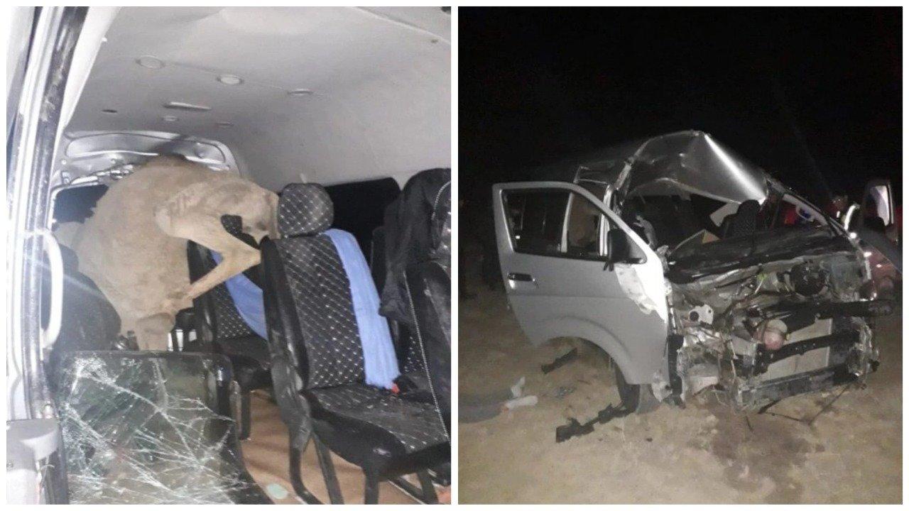 В Актау спасли женщину, попавшую в страшное ДТП, фото-1