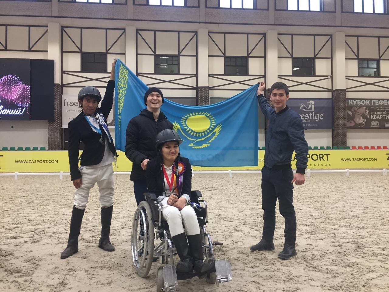 Три паралимпийца из Мангистау стали призерами турнира по конному спорту, фото-5