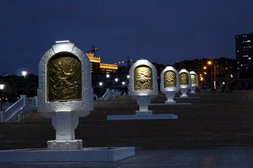 Вечерняя набережная Актау (ФОТОПОСТ), фото-9