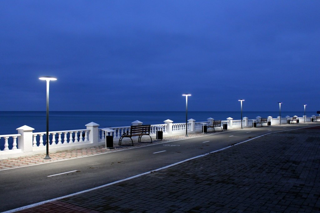 Вечерняя набережная Актау (ФОТОПОСТ), фото-4