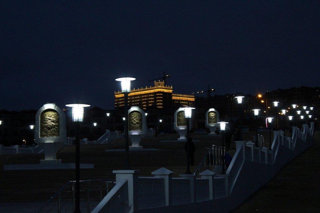 Вечерняя набережная Актау (ФОТОПОСТ), фото-1