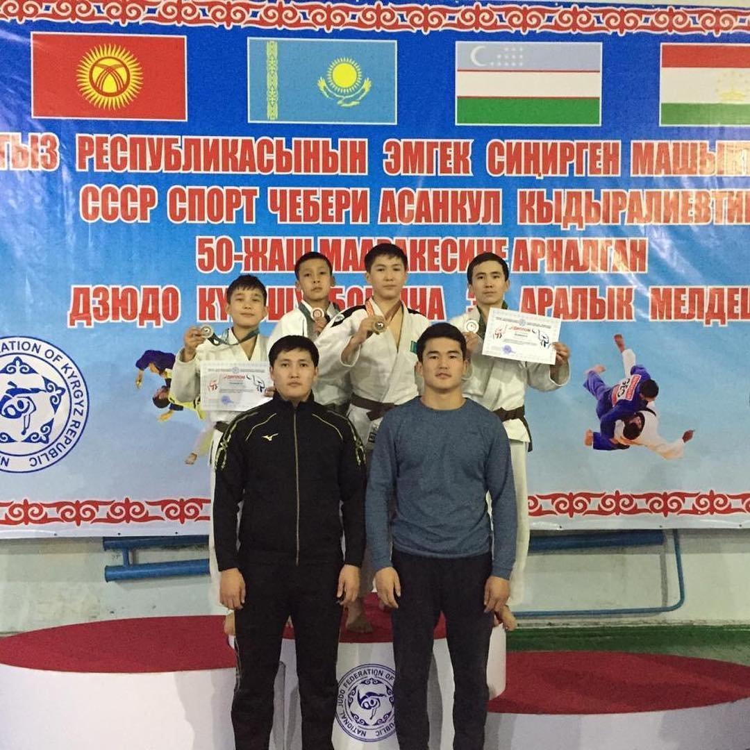 Четыре медали завоевали мангистауские дзюдоисты в Кыргызстане, фото-1