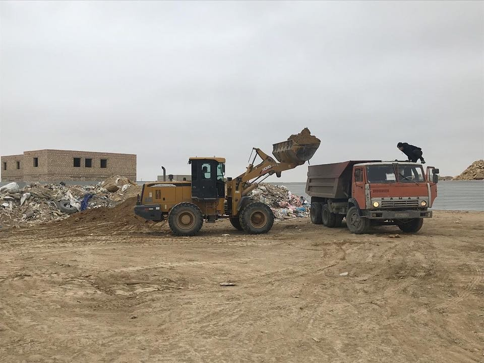 90 тонн мусора вывезли с бесхозных свалок Актау, фото-1