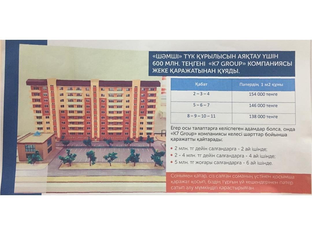Новая компания продолжит строительство дома для обманутых дольщиков в Актау, фото-1