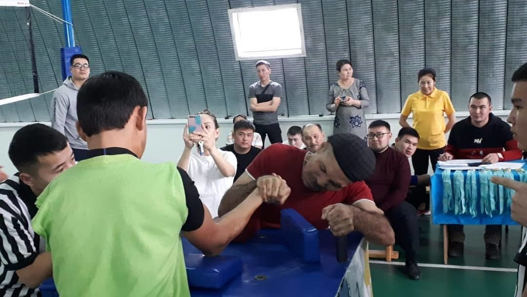 В Актау прошел турнир по пара-армрестлингу, фото-5