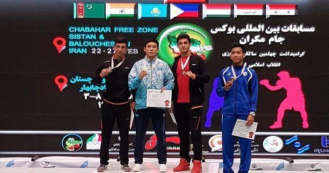 Мангистауские боксеры взяли две медали на международном турнире в Чабахаре, фото-2