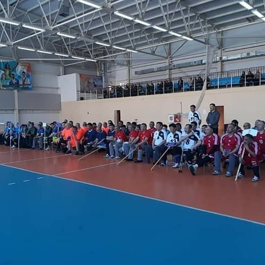 Команда ветеранов из Мангистау завоевала первое место в чемпионате по волейболу сидя, фото-4