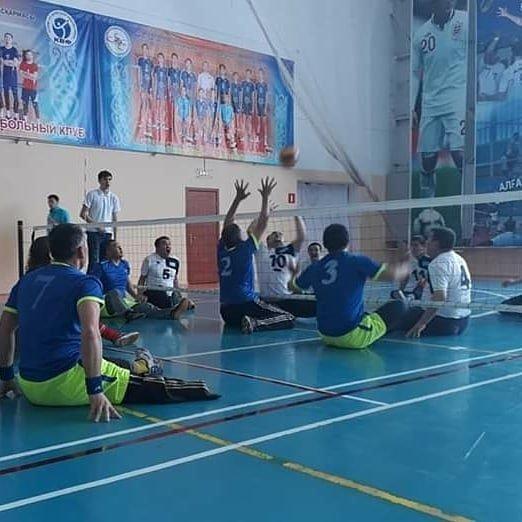 Команда ветеранов из Мангистау завоевала первое место в чемпионате по волейболу сидя, фото-3