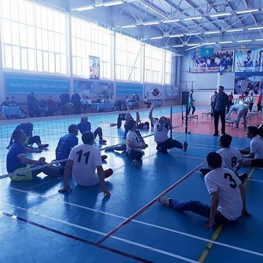 Команда ветеранов из Мангистау завоевала первое место в чемпионате по волейболу сидя, фото-2