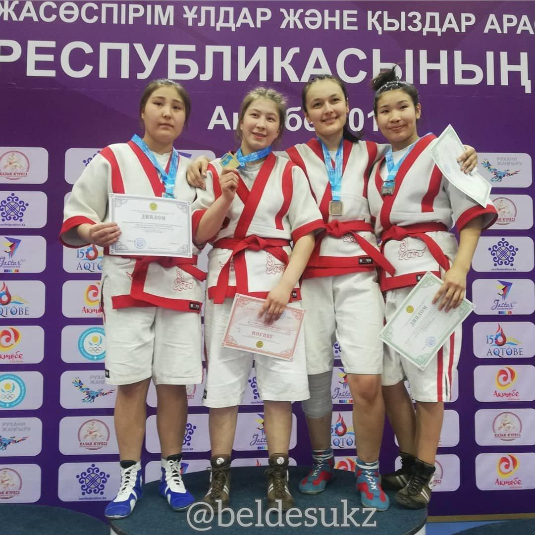 Четыре медали завоевали мангистауские палуаны в Актобе, фото-2
