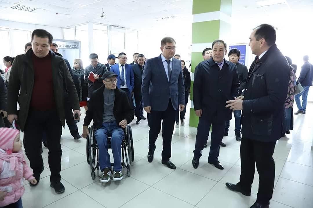 На доступность для инвалидов проверили ряд объектов в Актау, фото-1