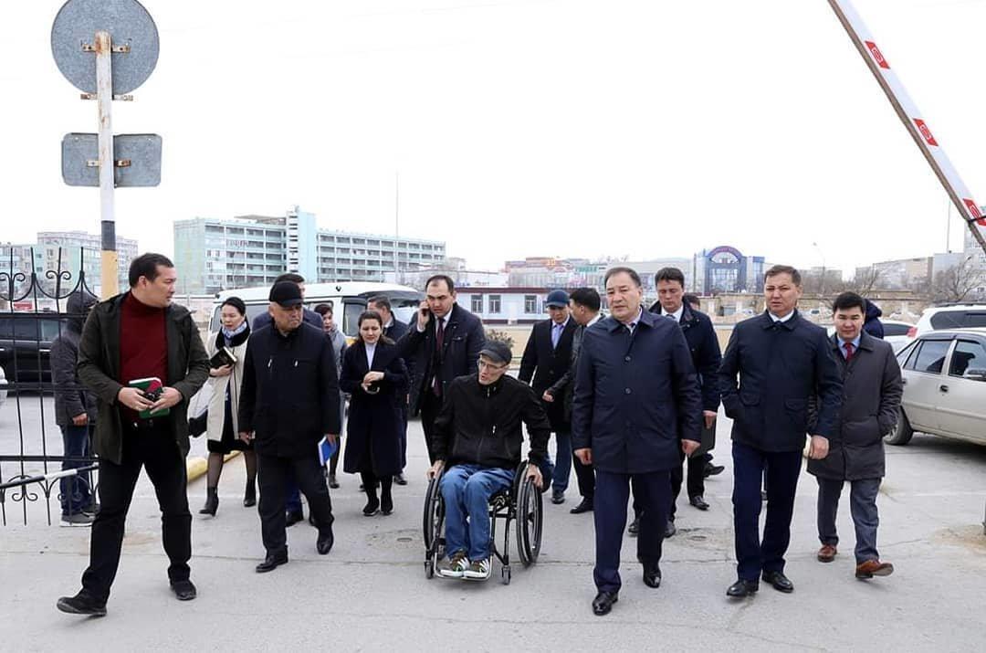 На доступность для инвалидов проверили ряд объектов в Актау, фото-6
