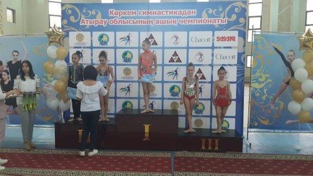 Гимнастки из Актау стали призерами открытого чемпионата в Атырау, фото-1