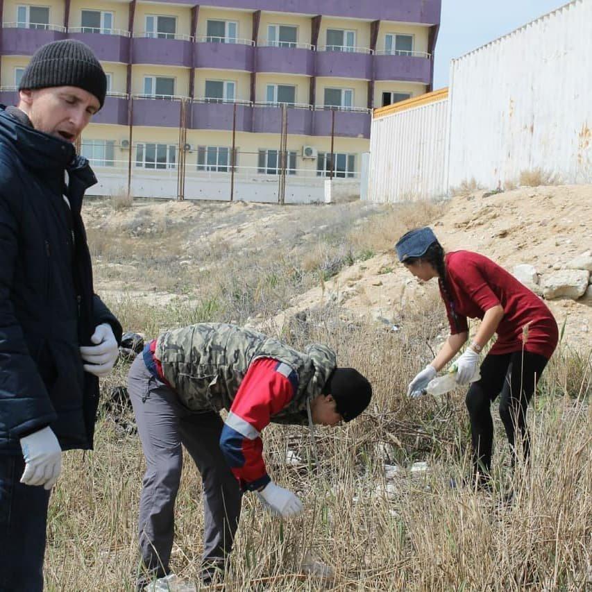 50 мешков мусора собрали волонтеры на пляже в Баутино, фото-8