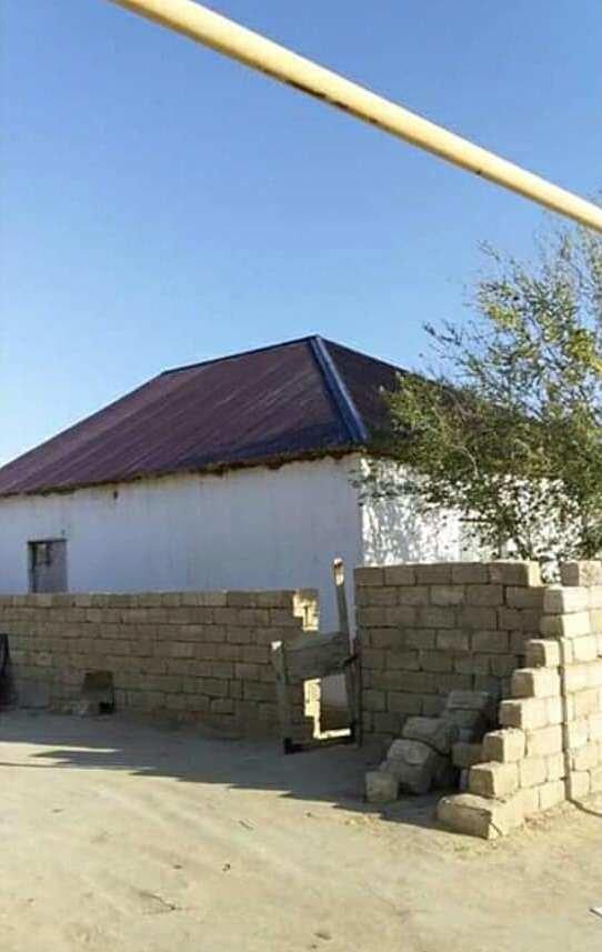 Жителю Бейнеу сельчане помогли отремонтировать разрушенный ветром дом, фото-2