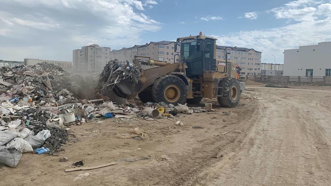 Жители Актау превратили в свалку 27 земельных участков, фото-1