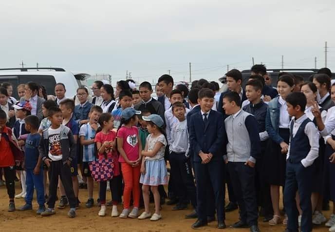 Спортивные площадки за 96 миллионов тенге подарили детям из села Боранкул, фото-3