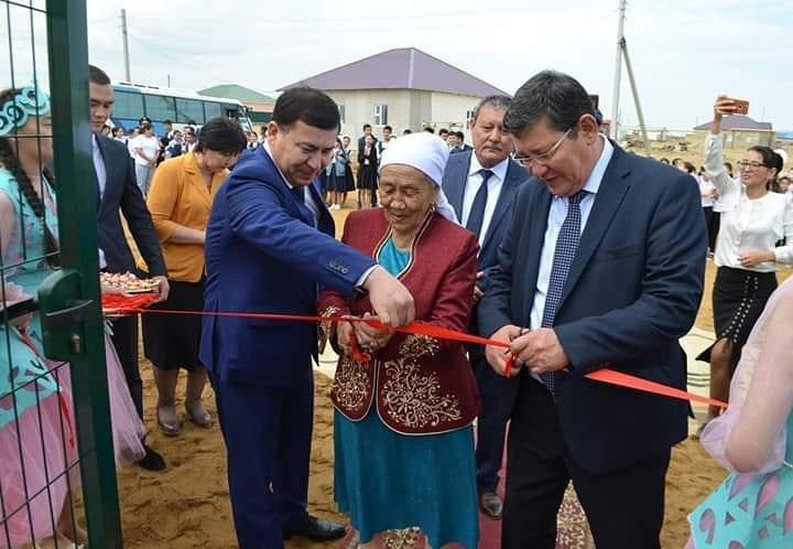 Спортивные площадки за 96 миллионов тенге подарили детям из села Боранкул, фото-1