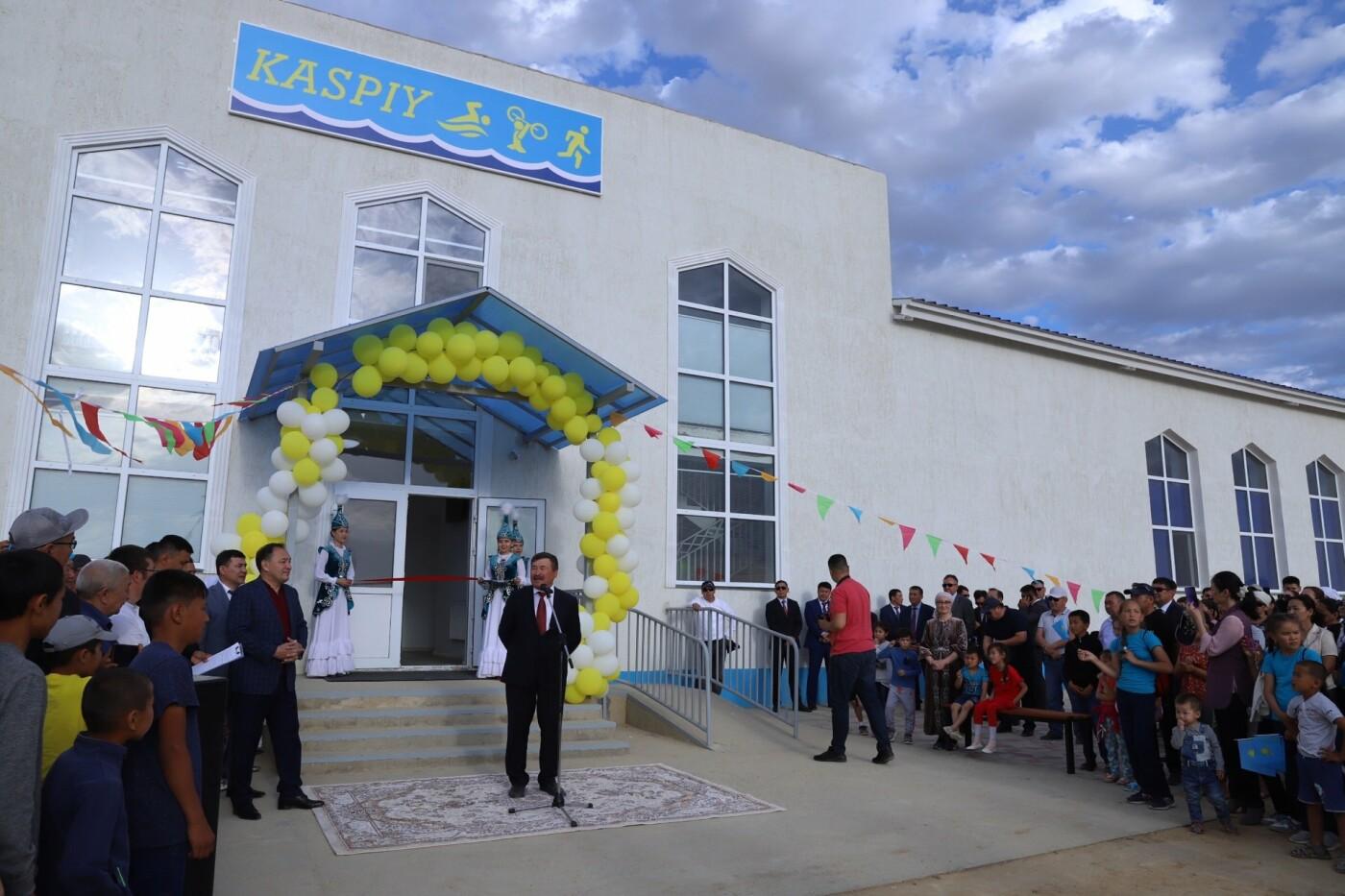 Спортивно-оздоровительный комплекс и бассейн открыли в Бейнеу, фото-4