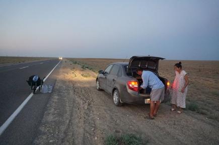 Увидишь Рюзо, помоги ему: жителей Актау призывают помогать туристу из Японии, фото-5