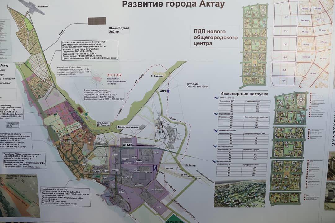 13 новых микрорайонов планируют построить в Актау, фото-1