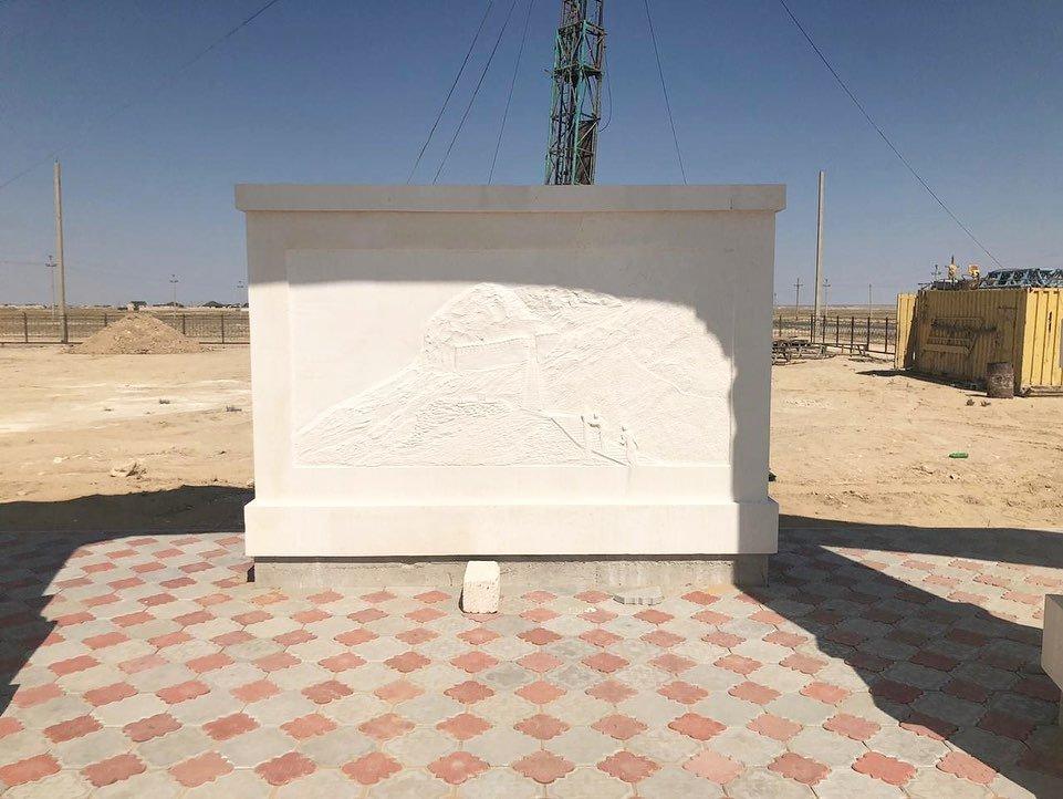 Новая арка появилась на въезде в село Кызылсай, фото-4