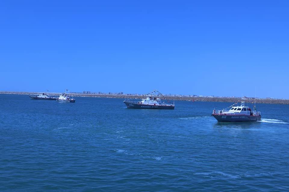 """Военный корабль """"Нұр-Сұлтан"""" спустили на воду в морпорту Актау, фото-2"""