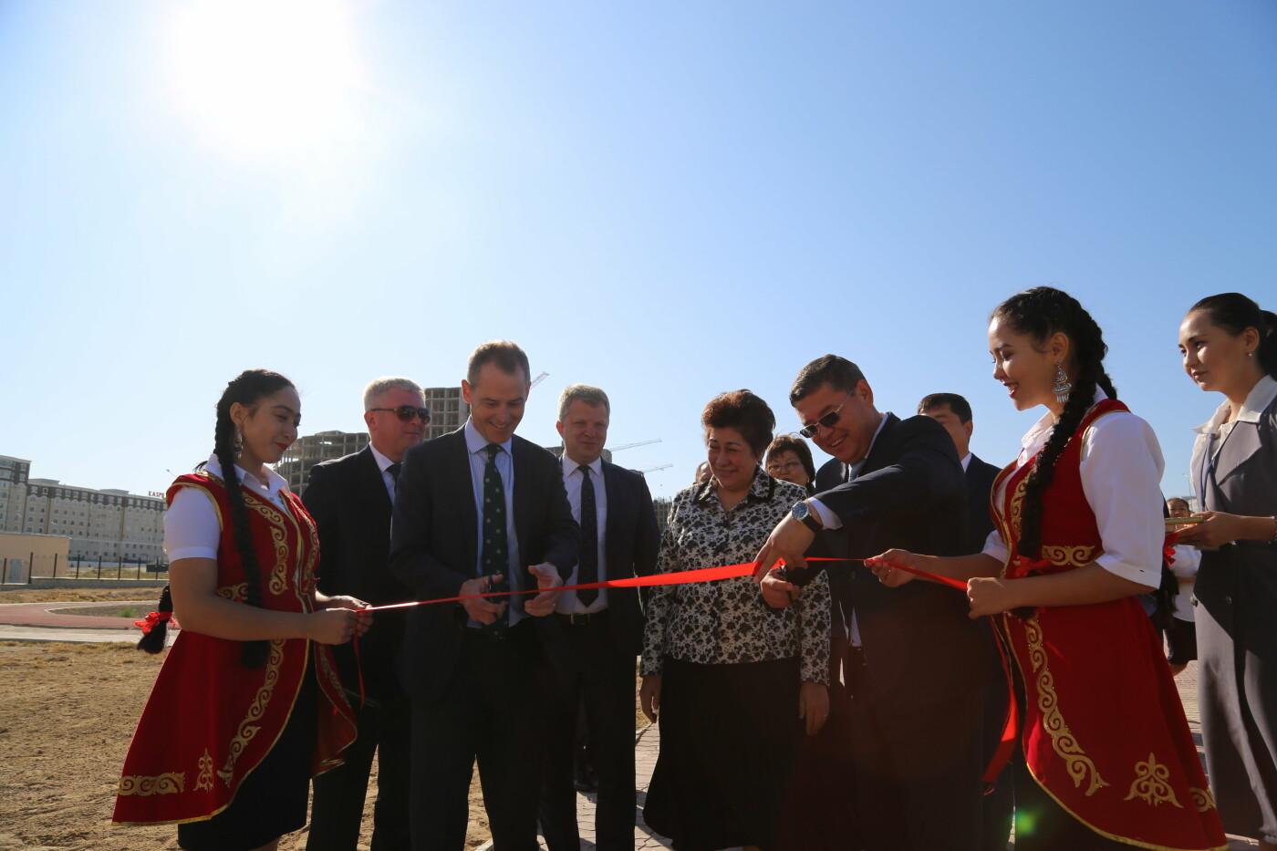 Солнечную электростанцию запустили в актауской школе, фото-1