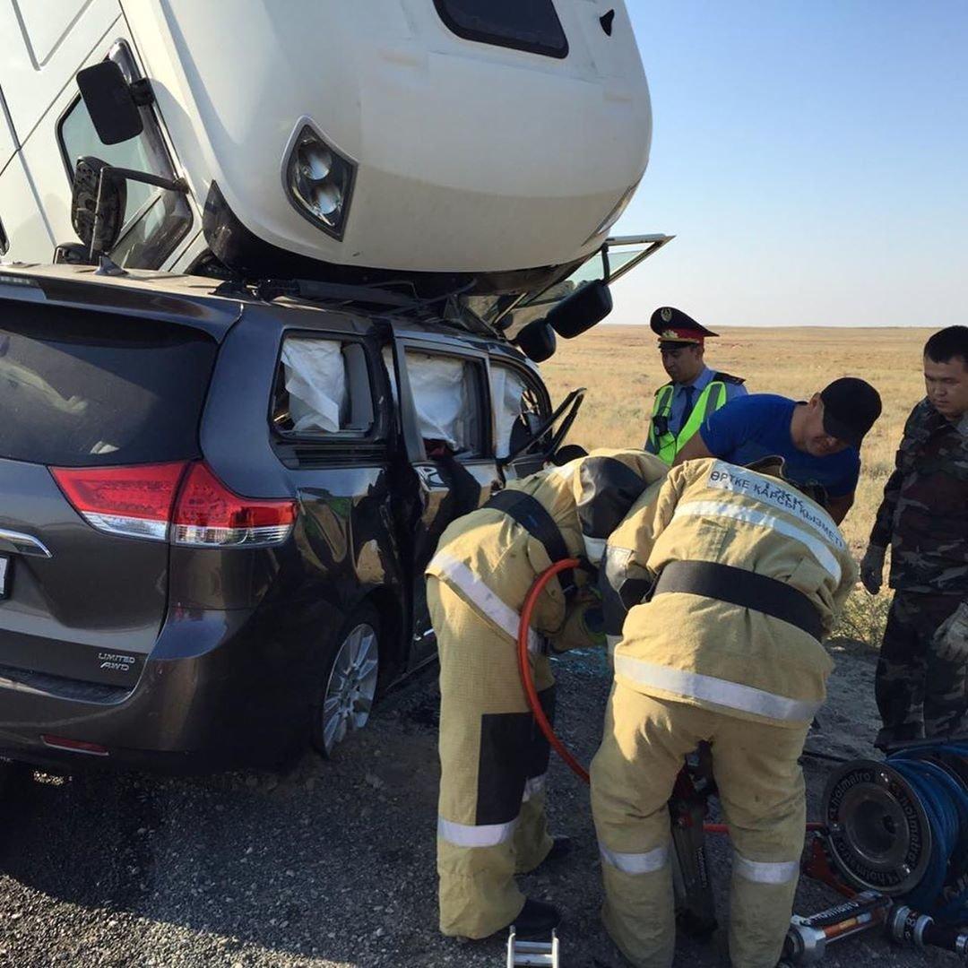 Трое жителей Мангистауской области погибли в аварии в Атырау, фото-2