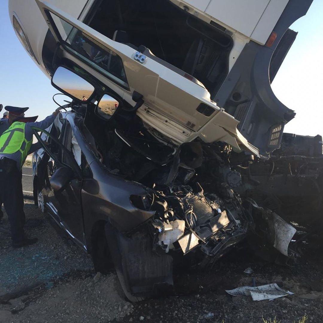 Трое жителей Мангистауской области погибли в аварии в Атырау, фото-4