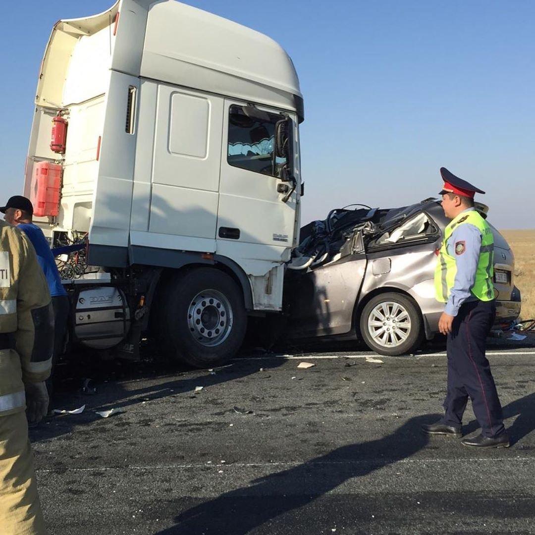 Трое жителей Мангистауской области погибли в аварии в Атырау, фото-6