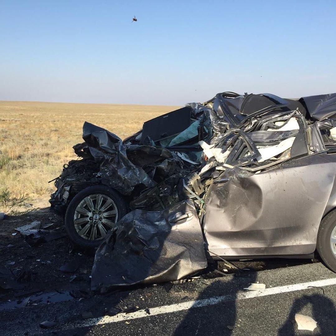 Трое жителей Мангистауской области погибли в аварии в Атырау, фото-1