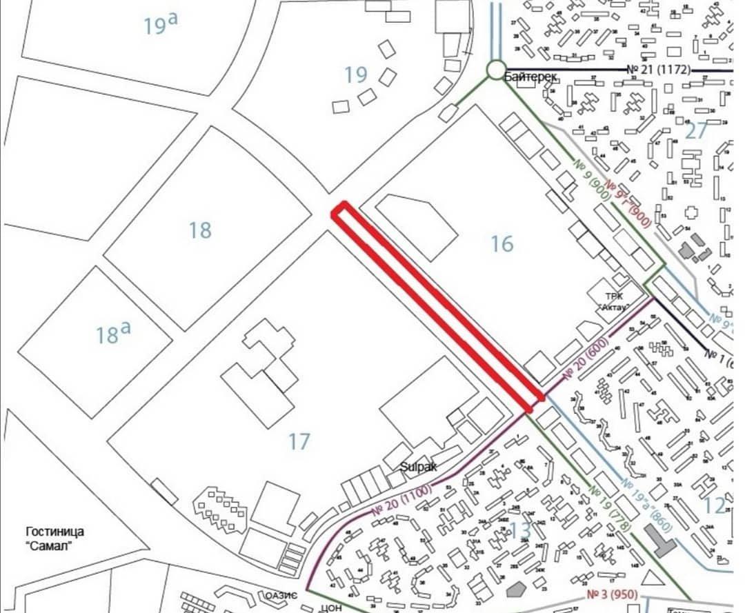 В Актау изменился автобусный маршрут №5, фото-1