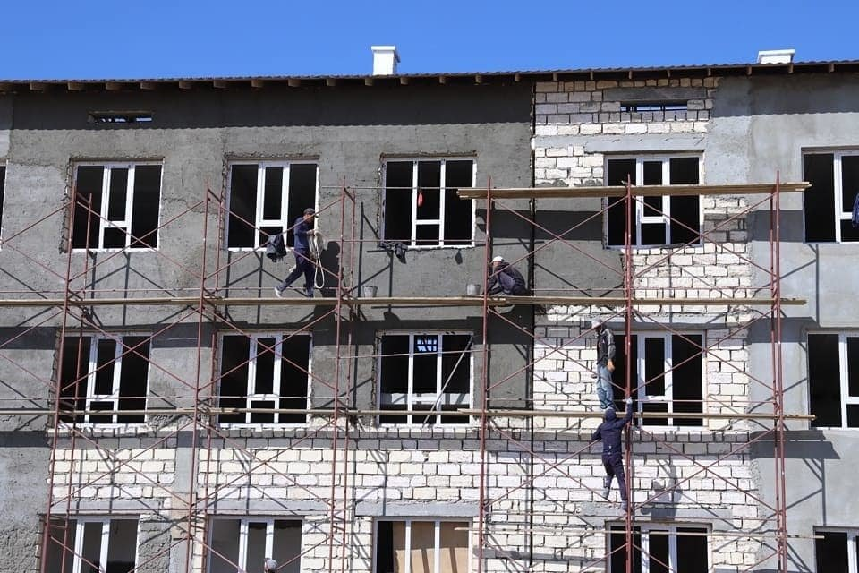 В Мунайлинском районе строят школу на 960 мест, фото-1
