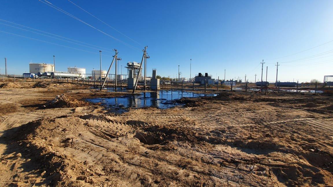 """Порыв нефтепровода произошел на месторождении """"Жетыбай"""", фото-10"""