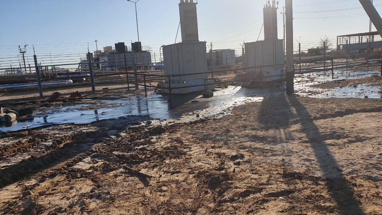 """Порыв нефтепровода произошел на месторождении """"Жетыбай"""", фото-8"""