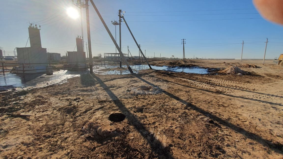 """Порыв нефтепровода произошел на месторождении """"Жетыбай"""", фото-1"""