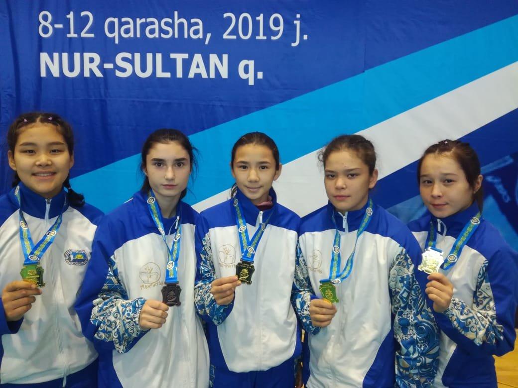 Девять медалей завоевали мангистауские борцы на республиканском турнире, фото-1