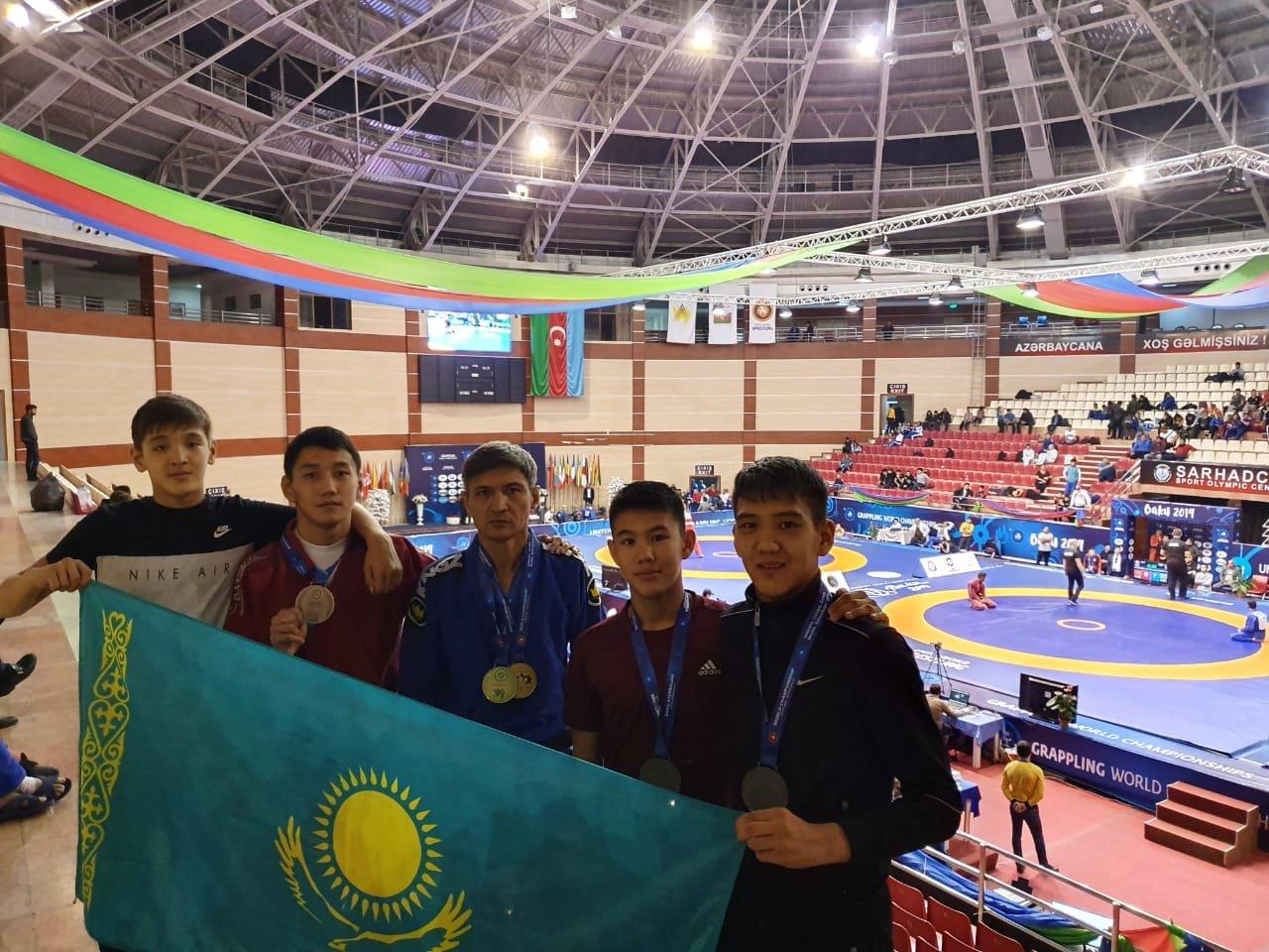 Школьник из Актау стал призером чемпионата мира по грэпплингу, фото-1