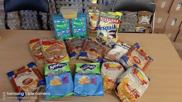 В Актау выдали первые наборы продуктов для детей в рамках АСП, фото-1