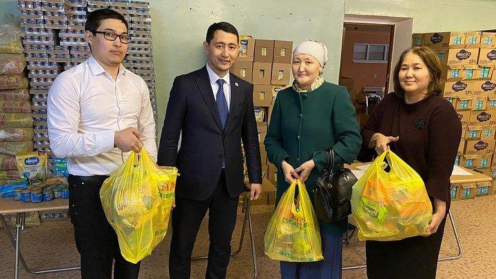 В Актау выдали первые наборы продуктов для детей в рамках АСП, фото-3