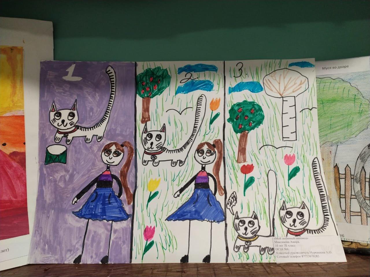 """""""Будьте людьми!"""": в Актау дети призвали общество ответственно относиться к животным, фото-19"""